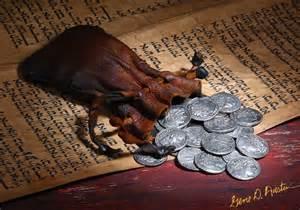 Judas 30 silver coins