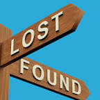 Sign lost found