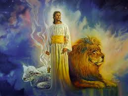 Jesus Lamb Lion